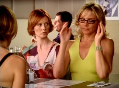 Season 6, episode 12: One. Samantha Jones, Miranda Hobbes ...