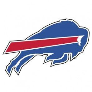 Buffalo Bills Primary Team Logo Auto Die Cut Window Film