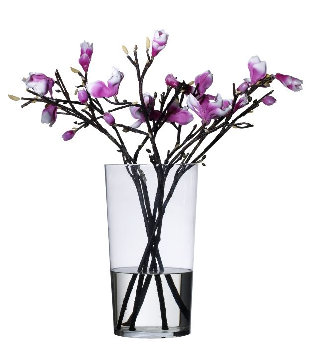 "Gifts Under $20 - Impress the flower lover in your life. Mouth-blown by skilled craftsmen, the BLADET vase stands 18"" high."