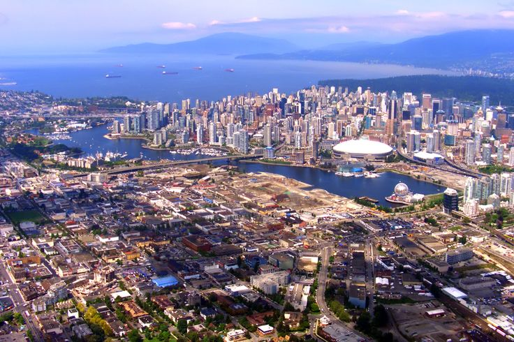 One of the most beautiful cities - Vancouver, B.C., Canada. People are so wonderful here too!