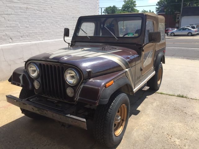 fb09ebffdf4 1980 Jeep CJ Golden Hawk 4X4