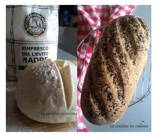 la cucina in collina: Pane ai cereali, semi misti e liquirizia