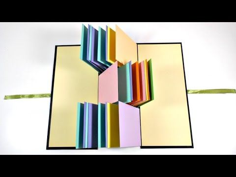 Tutorial encuadernación en espina ( Álbum Scrapbook) - YouTube