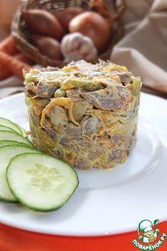 "Салат ""Сердцеедка"" - кулинарный рецепт"