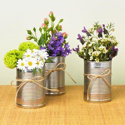 Ideas para ahorrar en una boda: Escoge flores silvestres y de estación.