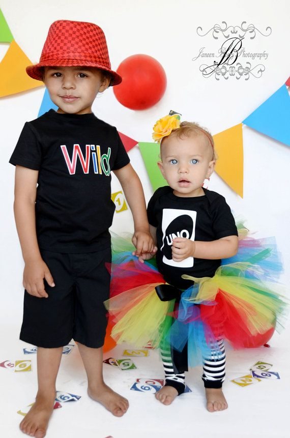 Wild Card Shirt  Great with our Uno Shirt Great by birthdaycouture