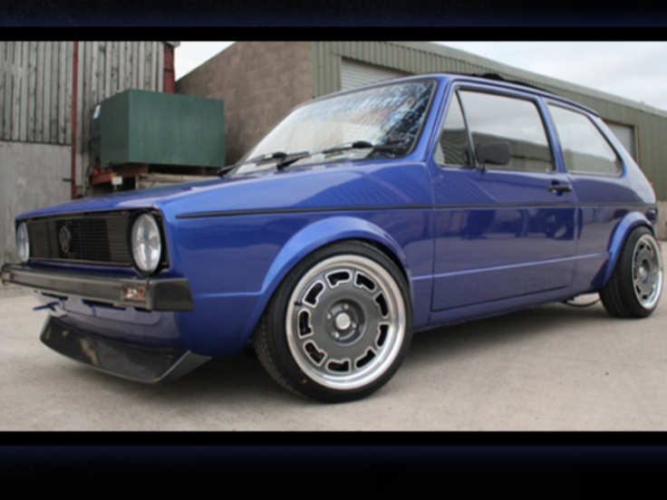 wicked mk1 golf gti on widened pirelli wheels just awesome n r links pinterest golf mk1. Black Bedroom Furniture Sets. Home Design Ideas