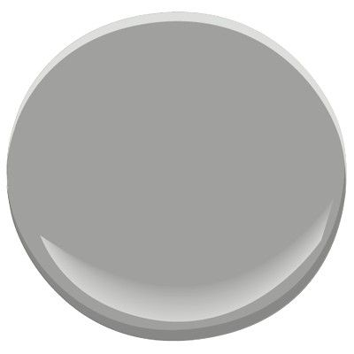 A fashionable neutral that is great to use when the furnishings are the focal point. Cool and light, this medium-tone gray lends a polished look to any room.