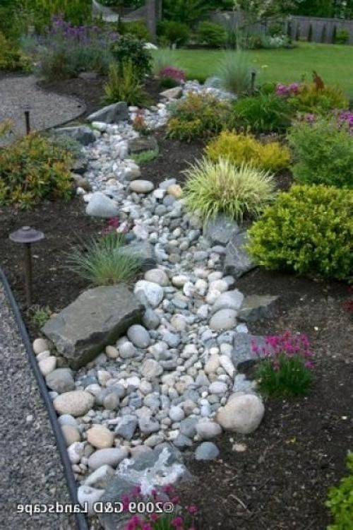 dry riverbed landscape photos dry river bed landscape photos more - Rock Landscaping Design Ideas