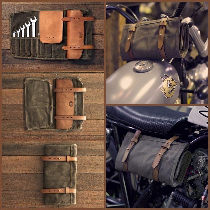 Deus Ex Machina tool roll. Repinned // www.kiezkicker-hamburg.de