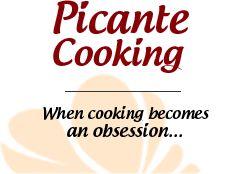Picantecooking — Авторський кулінарний сайт: пікантно про їжу...