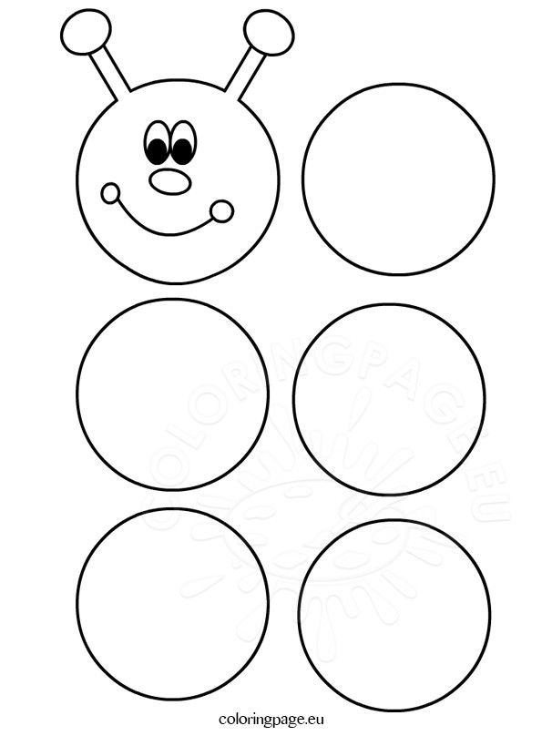 printable caterpillar template pre school ideax pinterest