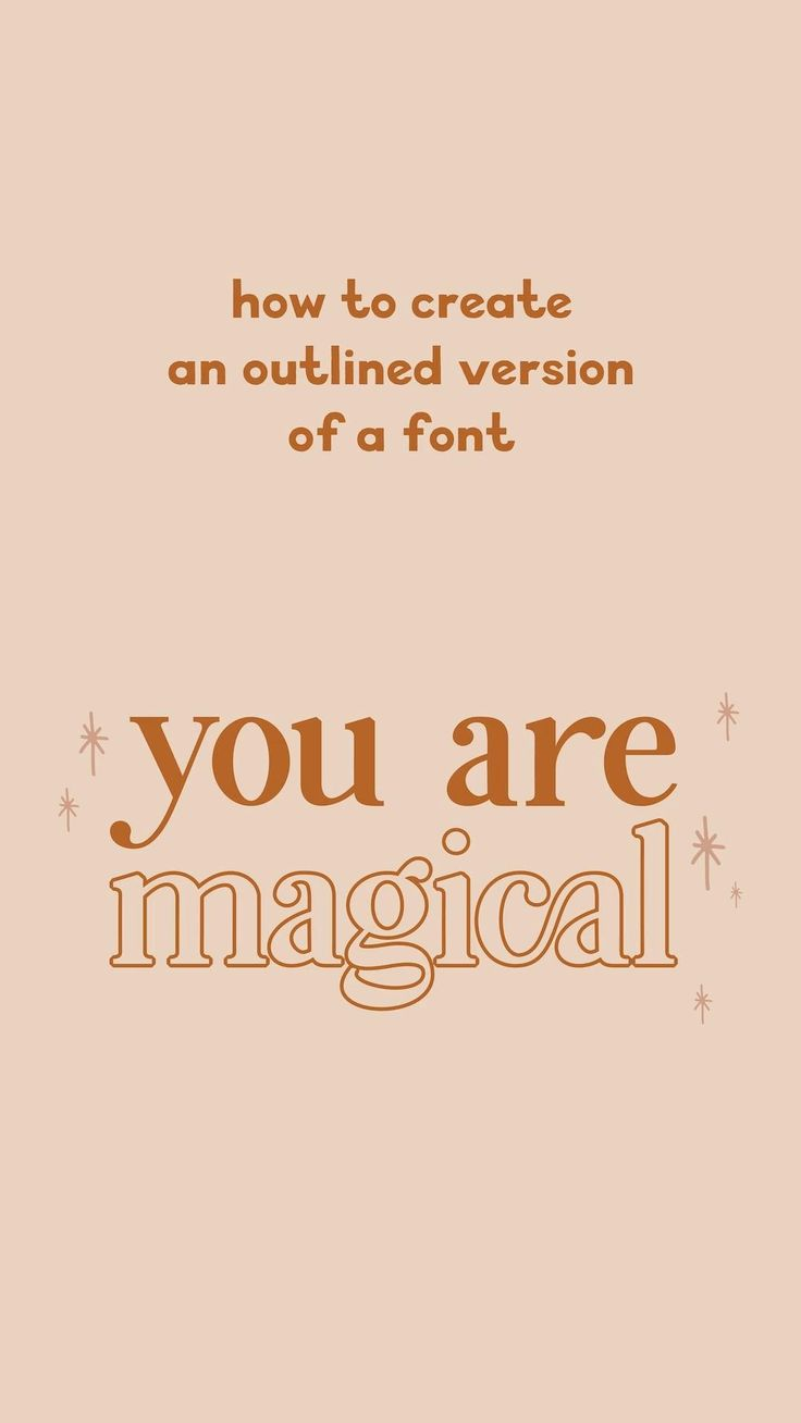 How to create an outline of a font in adobe illustrator