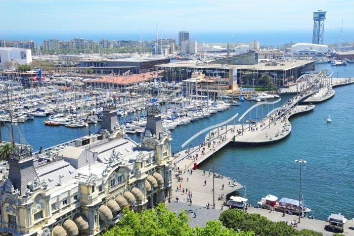 Port Vell, Barcelona. For more info, please visit www.topdealshotel.com/hotels-barcelona/
