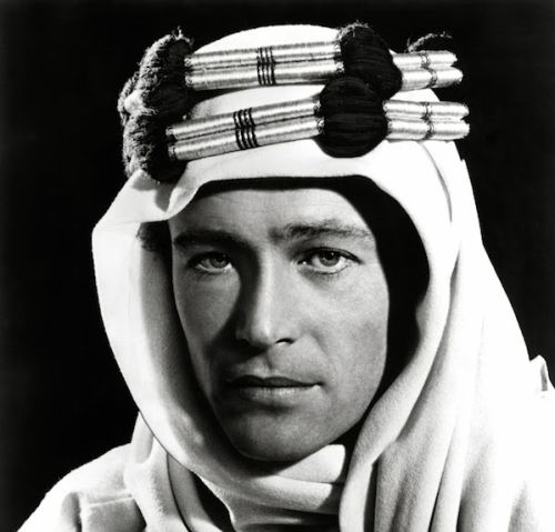 "Uncredited Photographer     Peter O'Toole, Publicity Shot for David Lean's ""Lawrence of Arabia""     1962    ""If you'd been any prettier, it would have been Florence of Arabia."" Noël Coward to O'Toole at the premier of ""Lawrence of Arabia"""