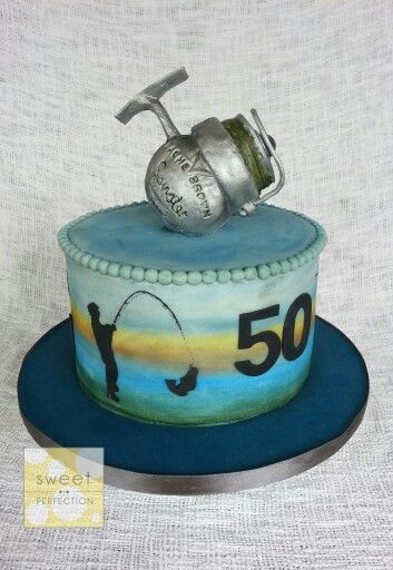Cake With Photo Reel : 10 Best ideas about Fishing Theme Cake on Pinterest ...
