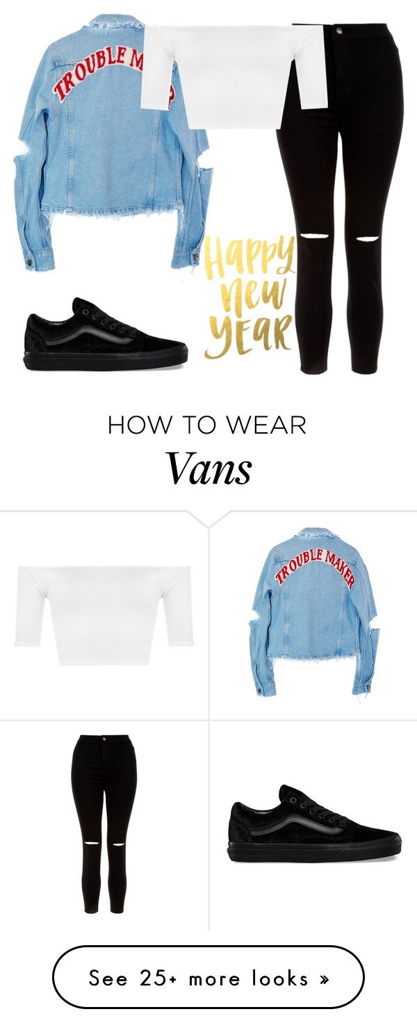 """new year, new me"" by valxgrunge on Polyvore featuring New Look, High Heels Suicide, WearAll and Vans"