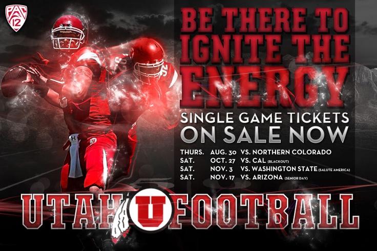 2012 Utah Utes Football Schedule.