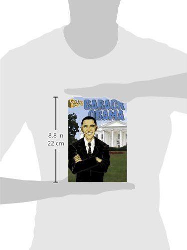 Barack Obama- Graphic Biographies (Saddleback Graphic: Biographies)