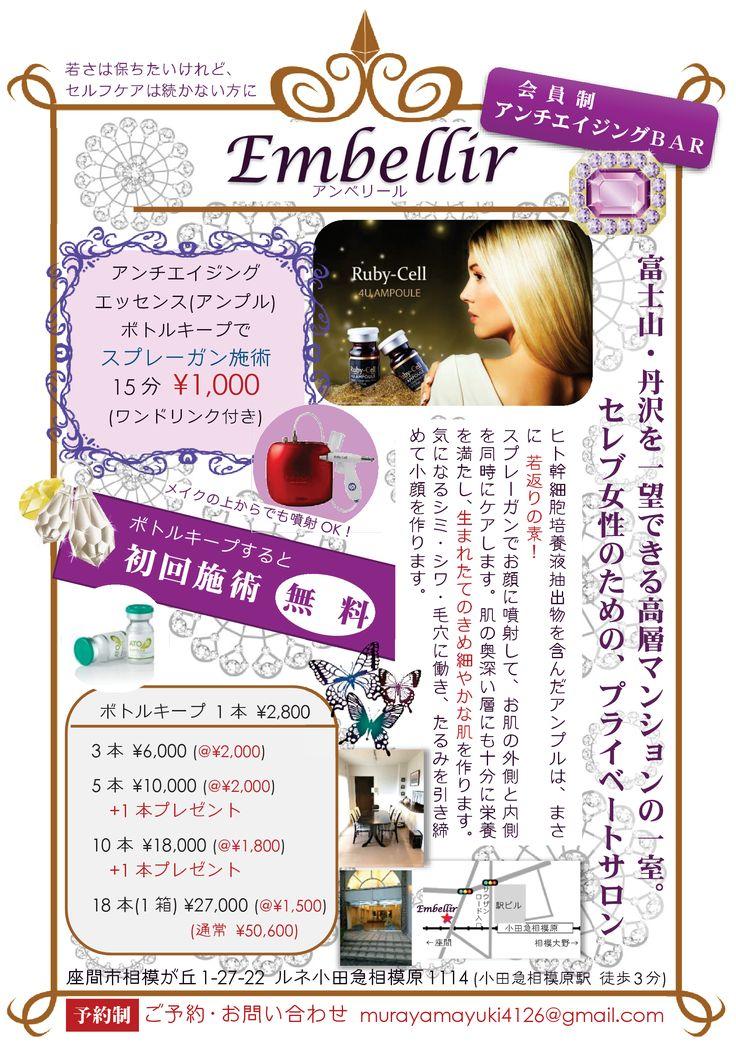 「Embellir チラシ」A5両面【裏面】2016年6月