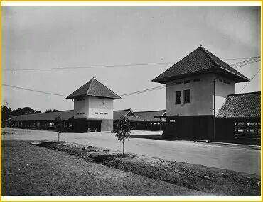 Gerbang Pasar Toeri 1930