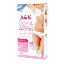 Nad's Bikini & Underarm Wax Strips Kit at Walgreens. Get free shipping at $35 and view promotions and reviews for Nad's Bikini & Underarm Wax Strips Kit