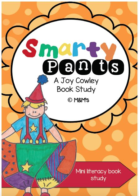 """""""Smarty Pants """" Book study from the Author Joy Cowley. Made by the M&M's"""