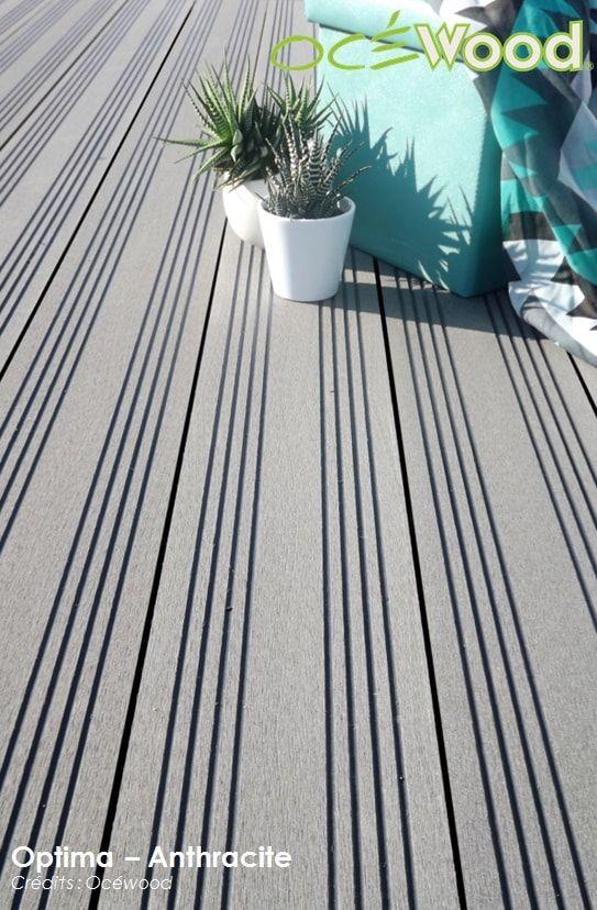 Terrasse en bois composite Optima - Anthracite 5-min Terrasses