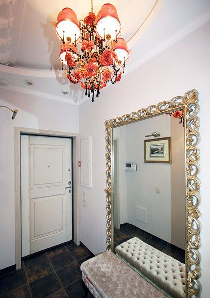 Large Mirror For Foyer Decorating Condo Living Foyer