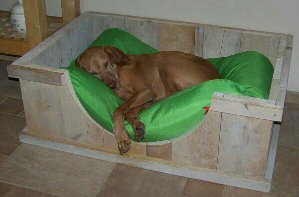 Big dog bed from wood                                                                                                                                                                                 More