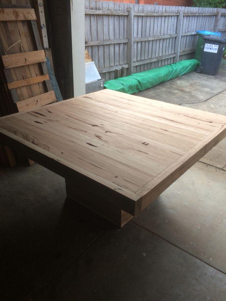 Dining table iron bark 2
