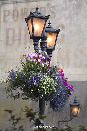 Street Lamps… Kilkenny City Ireland