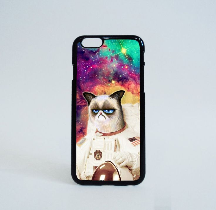 Cute Cat Astronaut in Galaxy Nebula Cases iPhone 6 Case Print on Hard Plastic #Unbranded