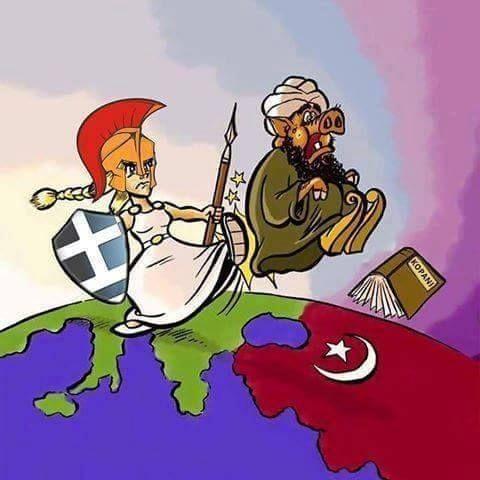 """Το επιχείρημα """"δεν φταίει το Ισλάμ, το Ισλαμικό Κράτος σκοτώνει και μουσουλμάνους"""" είναι για ανιστόρητους ανόητους φιλελέφτ. Είναι σαν να λες """"δεν φταίει ο ναζισμός, οι ναζί σκότωσαν και πολλούς Γερμανούς""""."""