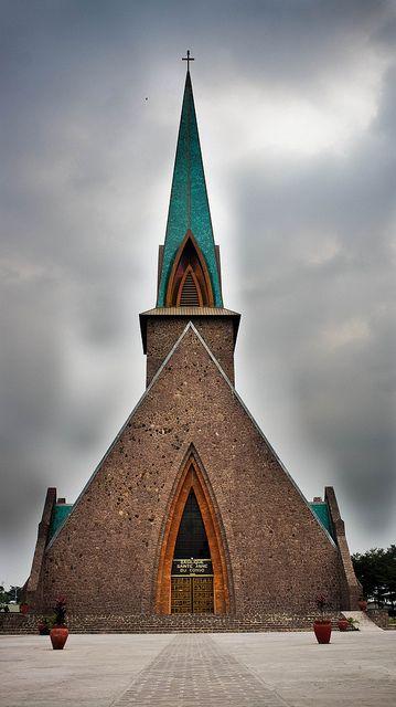 Catholic Church . Brazzaville Congo                                                                                                                                                                                 Mais