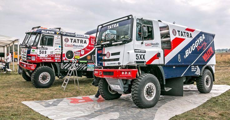 Tatra Dakar 2015 T815 & 2016 T158 | Truck