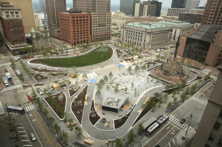 First look: Nearly finished Public Square renovation looks spectacular (photos)   cleveland.com