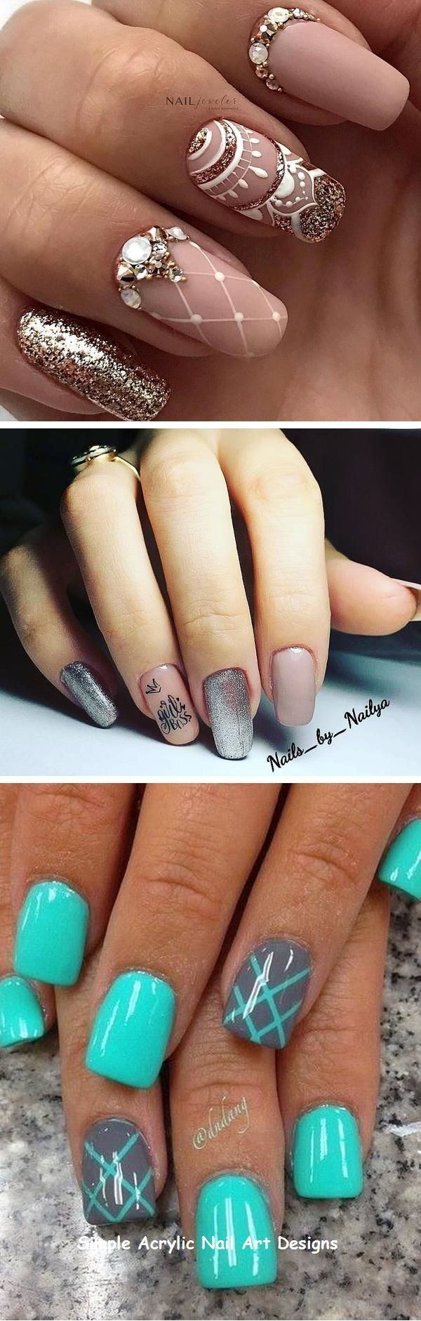 20+ GREAT IDEAS HOW TO MAKE ACRYLIC NAILS BY YOURSELF #acrylicnail