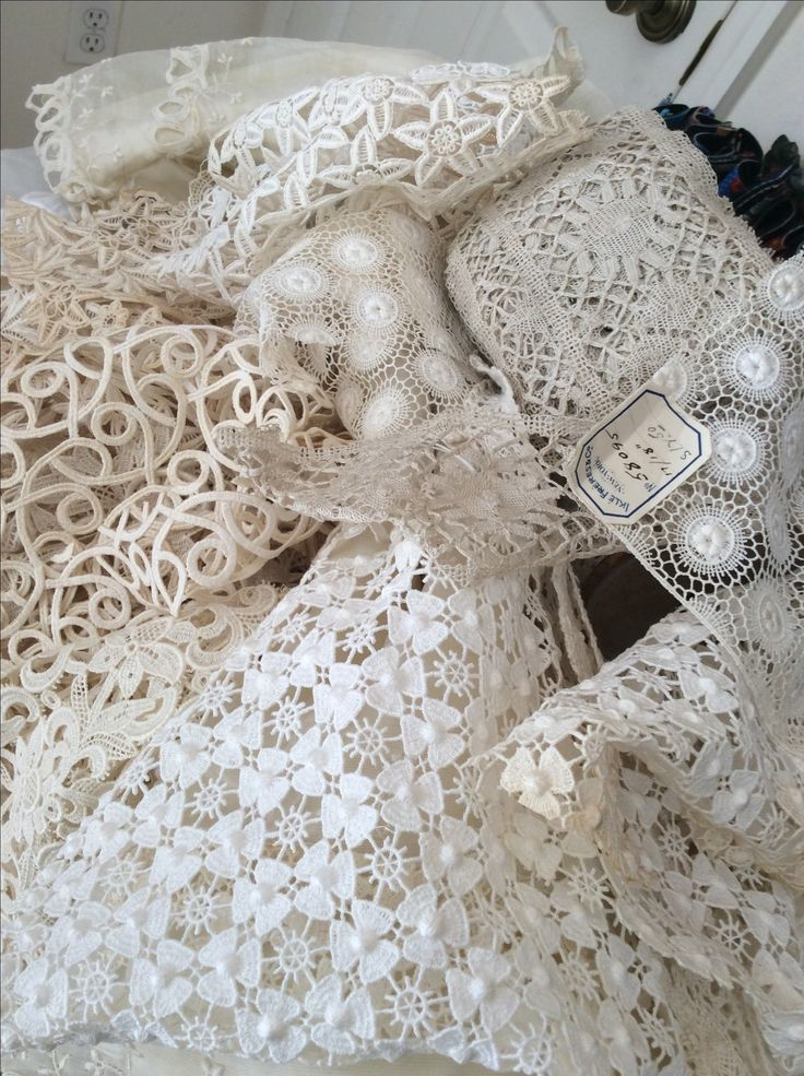 Lace with cool patterns