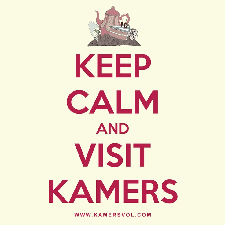 Keep calm and visit KAMERS. KAMERS 2012 happens 21-27 Oct at Lourensford Estate, Somerset-West and 25 Nov-1 Dec at Open Window @ SAX, Irene, Pretoria. www.kamersvol.com