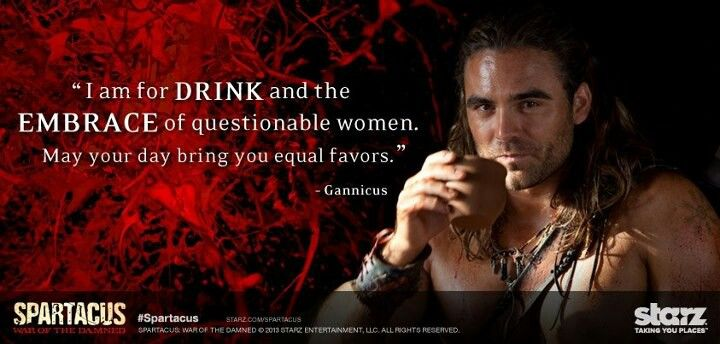 gannicus spartacus pinterest the ojays i am and favors