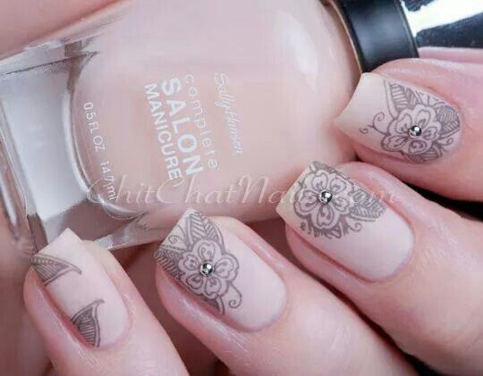 Cute Neutral Nail Art: Best ideas about painted toes on. Neutral ...