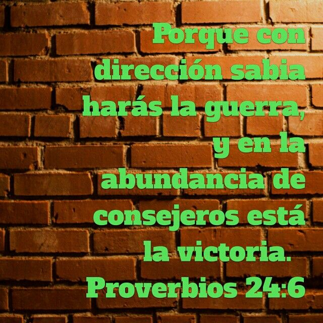 Proverbios 24:6