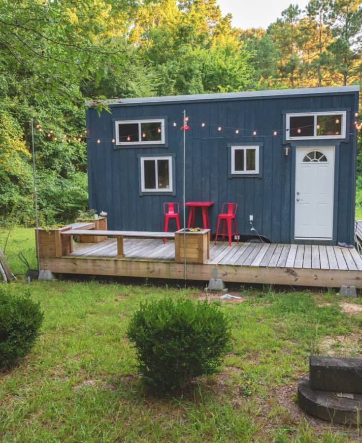 Swell Cool Tiny House In Raleigh Nc Tiny Homes In 2019 Tiny Download Free Architecture Designs Remcamadebymaigaardcom