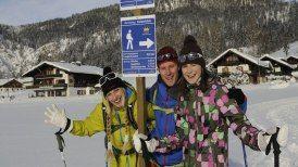 Winterwandern auf Premiumwegen in Reit im Winkl in Bayern