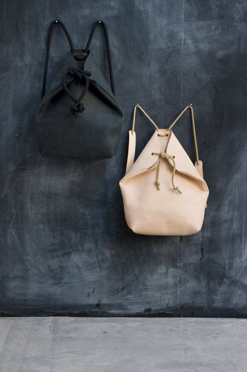 etsy:  Go back to cool with a super-streamlined leather-and-rope...