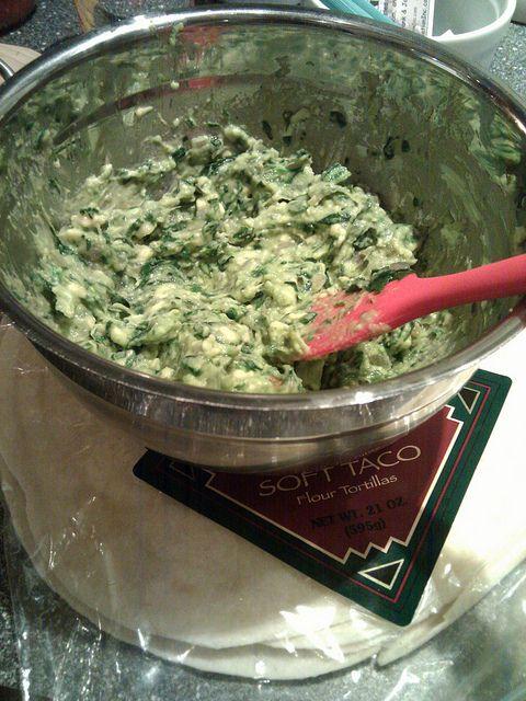 spinach-avocado dip. by ok karin, via Flickr