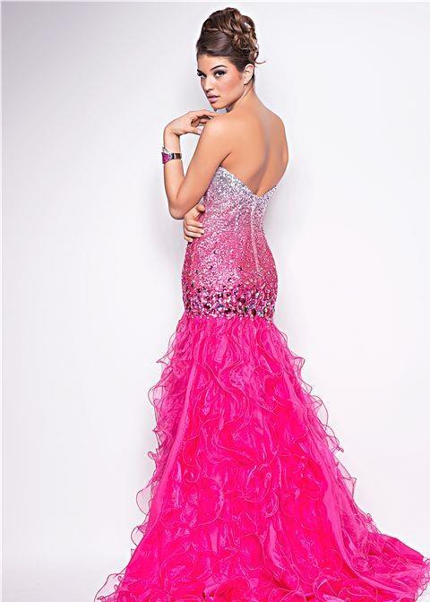49 best Prom dresses images on Pinterest   Peach prom dresses ...