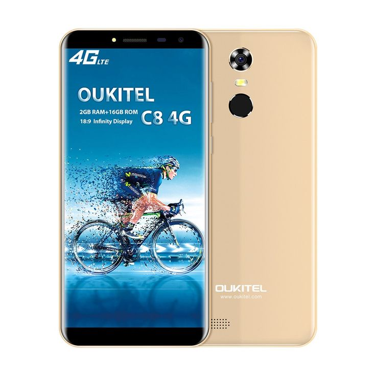OUKITEL C8 4G Mobile Phone 18:9 5.5 Inch HD 2GB RAM 16GB ROM Sales Online black eu - Tomtop
