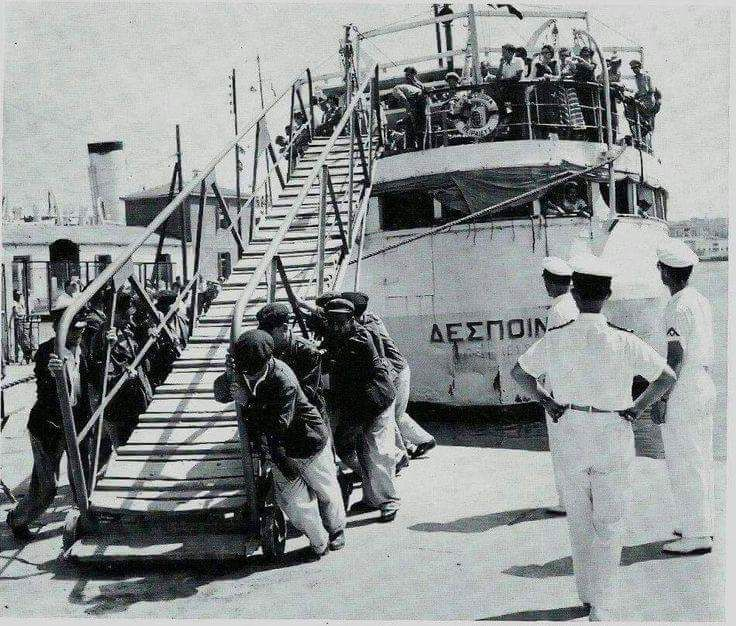 1960 ~ Piraeus port